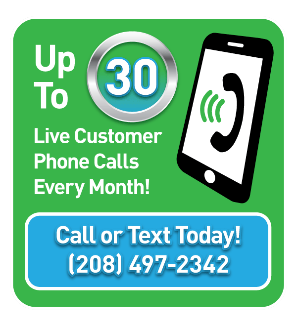 Get up to 30 live customer phone call leads per month